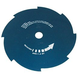 8-Zähne Schneideblatt Bluebird 255x1.4