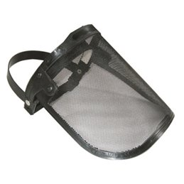 Professional Face-Shield With Metallic Net Bluebird